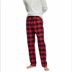 NWT Gap M flannel pajama pants buffalo plaid
